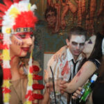 Halloween crowd 4